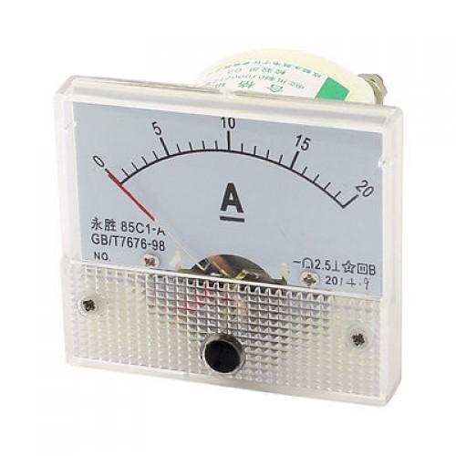 Αμπερόμετρο αναλογικό DC 0-20A