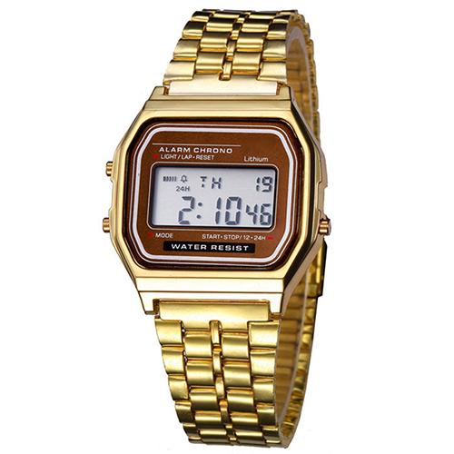Casual ρολόι χειρός με display - 6T5PG