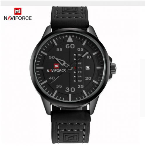Ρολόι δερμάτινο - NAVIFORCE 9074