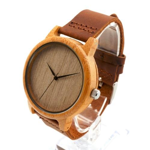Ρολόι ξύλινο ανδρικό - BOBO BIRD BAM03