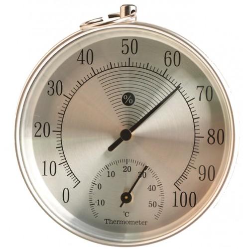 Θερμόμετρο υγρασιόμετρο εσωτερικού εξωτερικού χώρου -THE01419