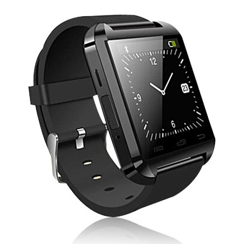 Smart Watch U8 Bluetooth ρολόι (Μαύρο)