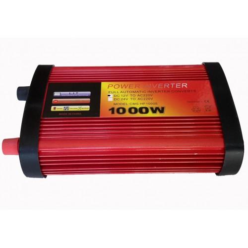 Inverter τροποποιημένου ημιτόνου 1000W 12V σε 220V CMS-HF1000E