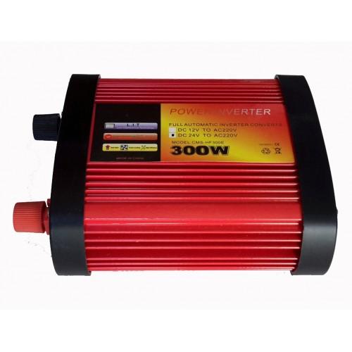 Inverter τροποποιημένου ημιτόνου 300W 24V σε 220V CMS-HF300E
