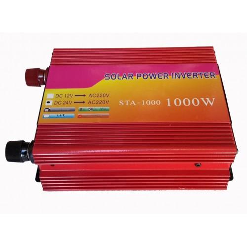 Inverter τροποποιημένου ημιτόνου 24V σε 220V 1000W - STA-1000