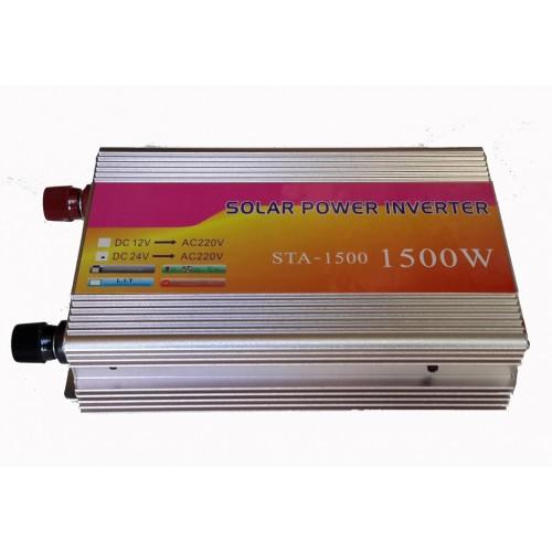 Inverter τροποποιημένου ημιτόνου 24V σε 220V 1500W - STA-1500