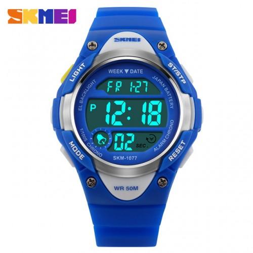 Παιδικό ρολόι χειρός SKMEI 1077 Μπλε