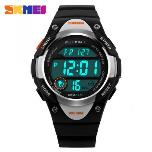 Παιδικό ρολόι χειρός SKMEI 1077 Μαύρο