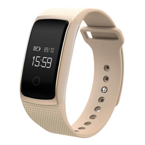 A09 Bluetooth Smart Watch Bracelet For Android IOS Gold