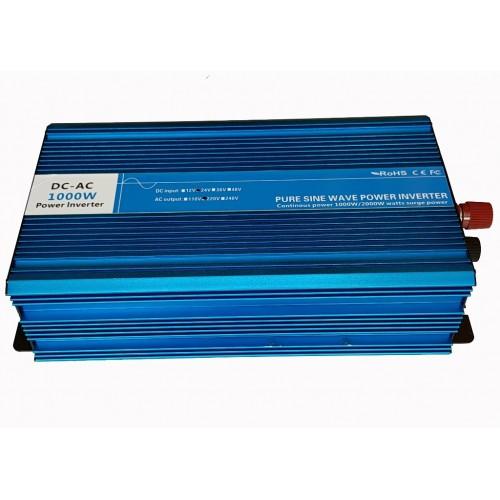 Inverter Καθαρού ημίτονου 24V σε 220V 1000W - D-PSW1000W