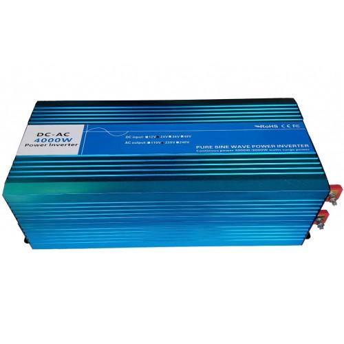Inverter Καθαρού ημίτονου 24V σε 220V 4000W - DXP4000P