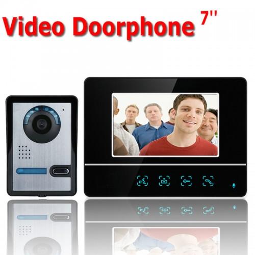 Θυροτηλεόραση αφής ενσύρματη 7 inch με υπέρυθρη κάμερα με μια οθόνη και μια κάμερα - OEM-SY811FA11
