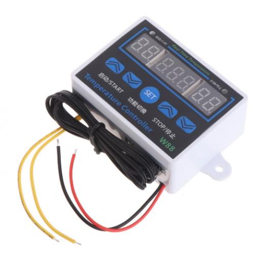 Ψηφιακός θερμοστάτης Διακόπτης ελέγχου θερμοκρασίας -50 έως 110C 10Α 12V - 1552
