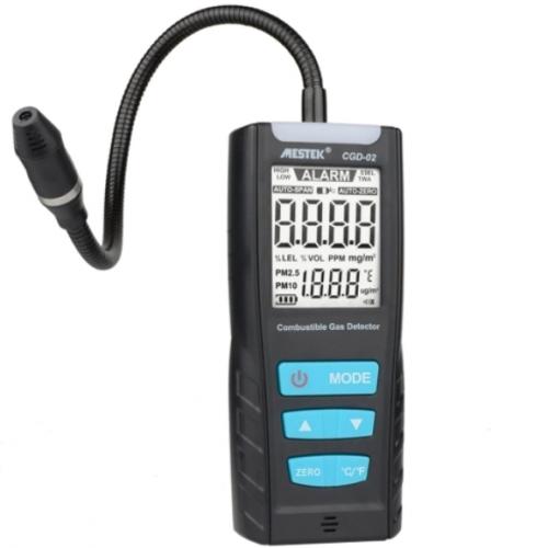 Ανιχνευτής διαρροής ψυκτικών υγρών co2 Gas Leak Detector MESTEK CGD-02