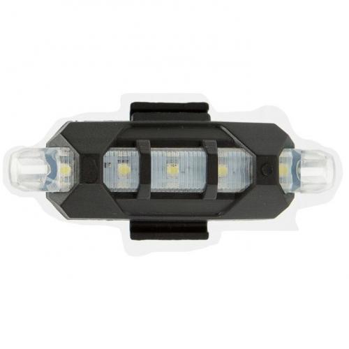 led Φώτα ποδηλάτου επαναφορτιζόμενα με USB ZSW0025-White