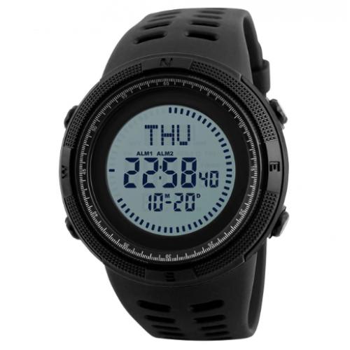 Ρολόι ανδρικό χειρός SKMEI 1254 Black
