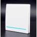 Ασύρματος διακόπτης τοίχου RF 433Mhz μονοκάναλος για λάμπες 220V Λευκός - 1890