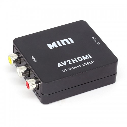 Μετατροπέας σήματος  AV σε HDMI  3RCA 1080p - A2H1080