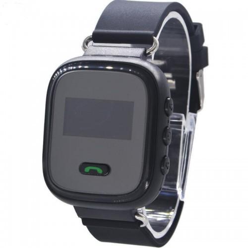 Παιδικό ρολόι χειρός gps με πλήκτρο SOS Μαύρο - Q60