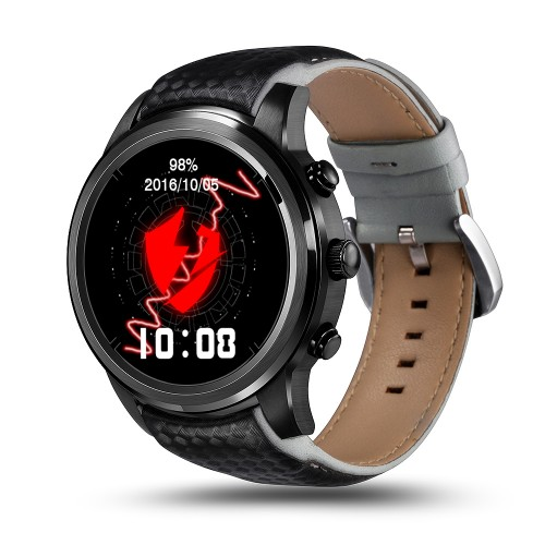 LEMFO LEM5 Smart Watch Black