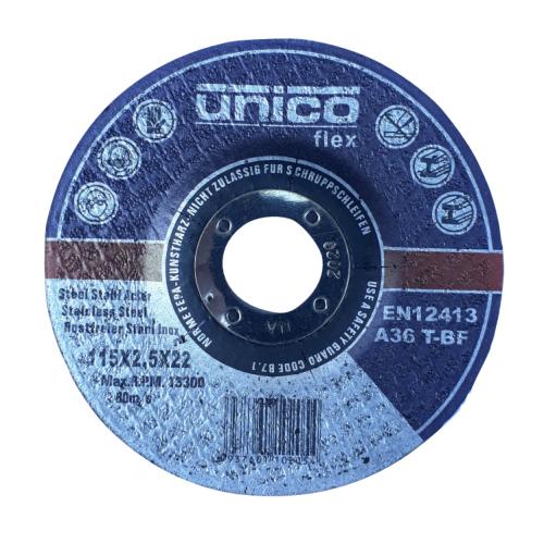 Τροχός δίσκος κοπής σιδήρου Unico Flex Φ125Χ2.5