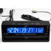 Βολτόμετρο θερμόμετρο ρολόι αυτοκινήτου με εξωτερικό αισθητήρα MY145