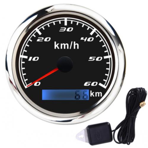 Αναλογικό κοντέρ 60 km/h με GPS για σκάφη τρακτέρ 60K-BS