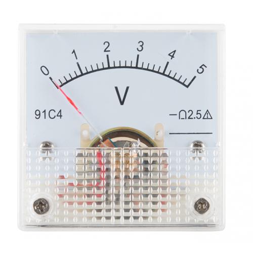 Αμπερόμετρο αναλογικό 91C4 DC 0-5A
