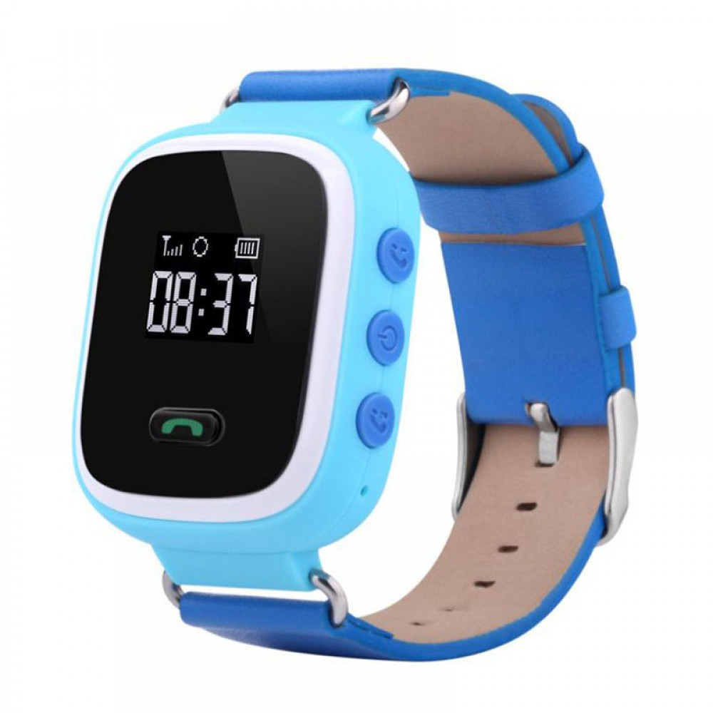 Παιδικό ρολόι χειρός gps με πλήκτρο SOS Μπλε - Q60 4bc29aee9e6