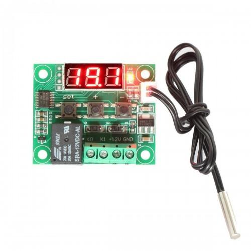 DC12V θερμοστάτης controller θερμόμετρο ελεγκτής θερμοκρασίας - W1209