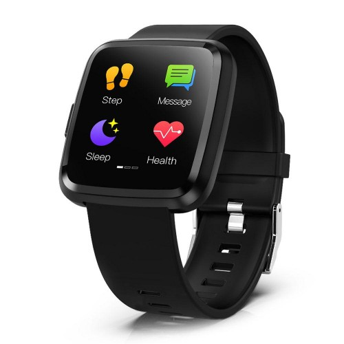 COLMI CY7 PRO Smart watch Full screen touch IP67 Black