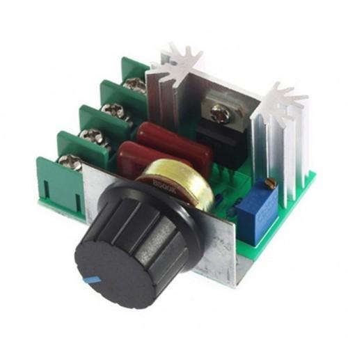 Ρυθμιστής τάσης και έντασης θυρίστορ dimmer 2000W - PW031