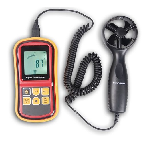 Ανεμόμετρο θερμόμετρο χειρός επαγγελματικό - OEM GM8901