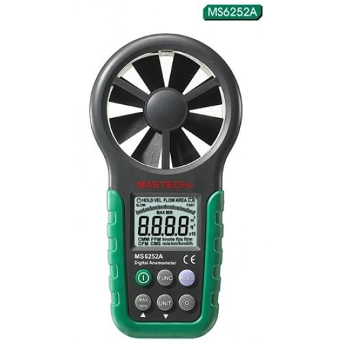 Ψηφιακό Θερμόμετρο και Ανεμόμετρο - MASTECH MS6252A