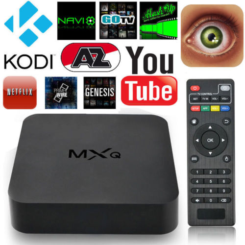 Android 4.4 Quad-Core WiFi Kodi 1080P Smart set TV Box XBMC 8GB Fully Loaded - MXQ S805