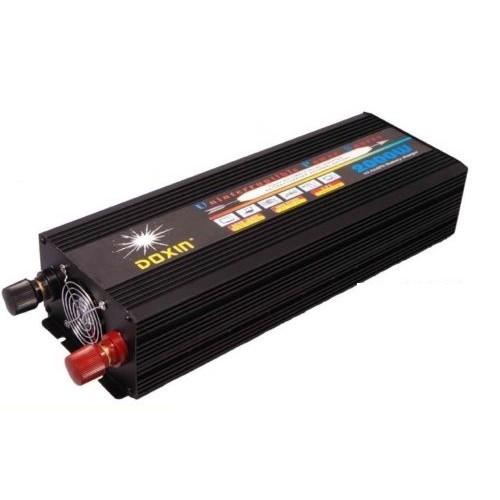 Inverter τροποποιημένου ημιτόνου 12V σε 220V 2000W - DOXIN DXP-2003